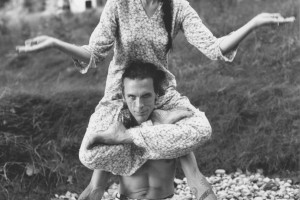 Sharon Gannon and David Life, Jivamukti Yoga Founders.