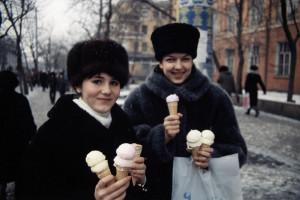 Siberian Ice Cream Girls.